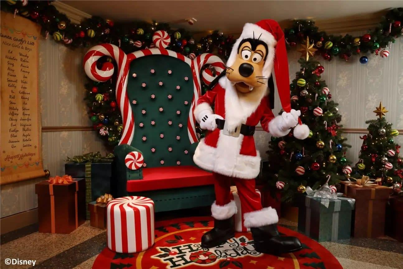 Goofy at Hong Kong Disneyland