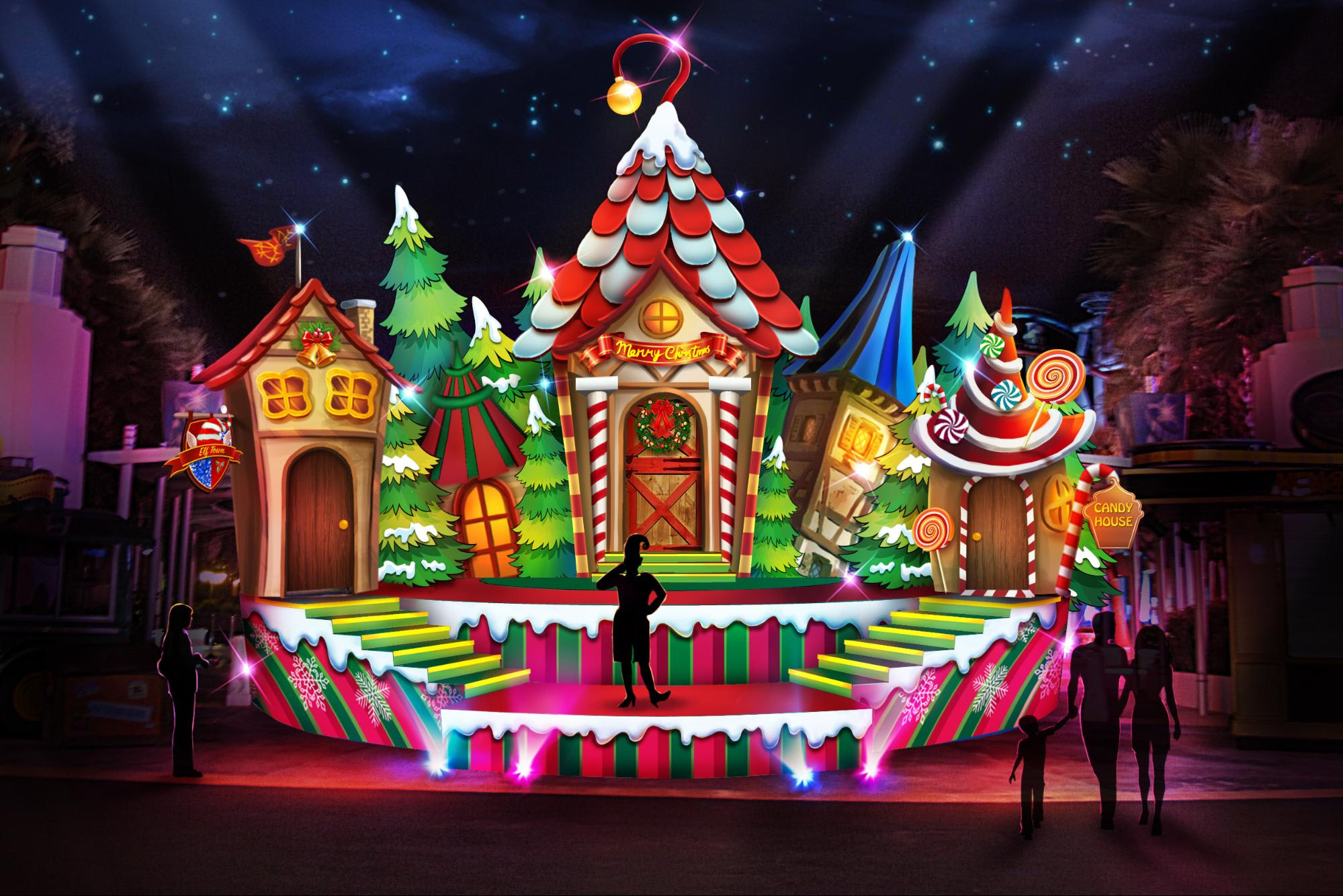 Universal Wonder Christmas 2018 Datang Ke Universal Studios