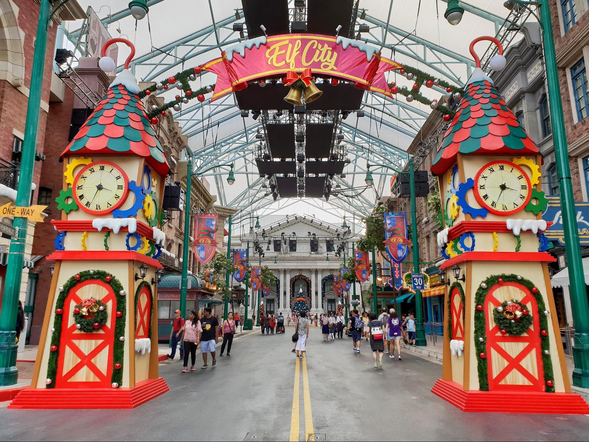Christmas City Studios.Universal Wonder Christmas Comes To Universal Studios
