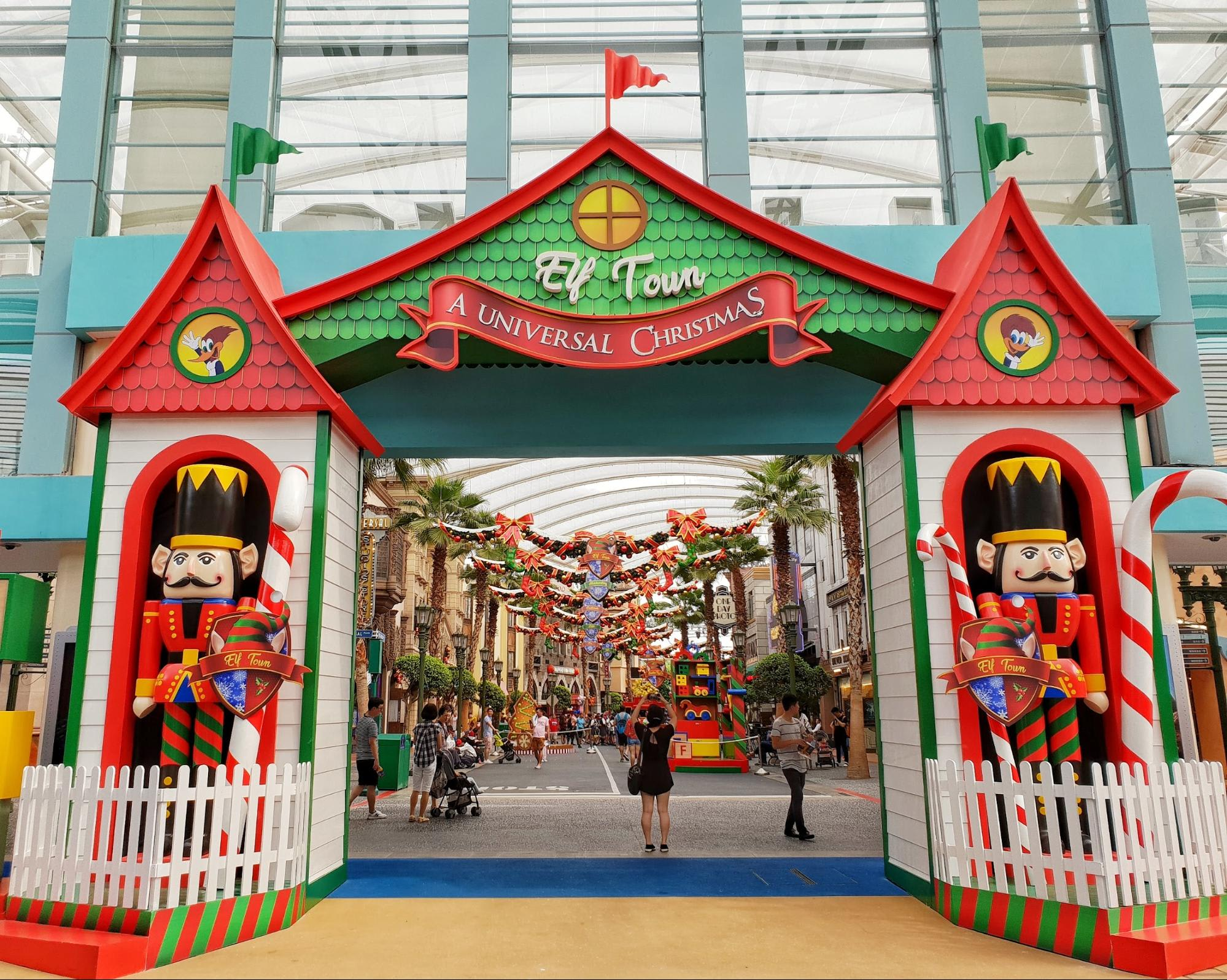 Elf Town at USS