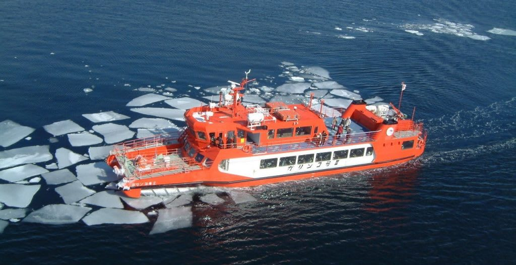 Okhotsk Sea Drift Ice Sightseeing Cruise