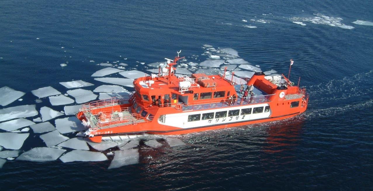 Okhotsk Sea Drift Ice Sightseeing Cruise