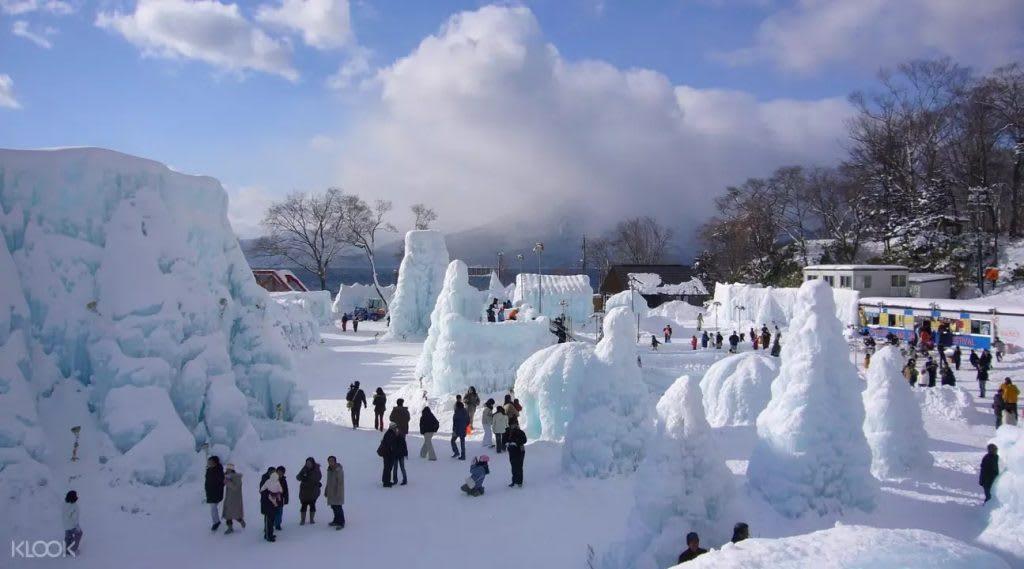 Lake Shikotsu Ice Festival