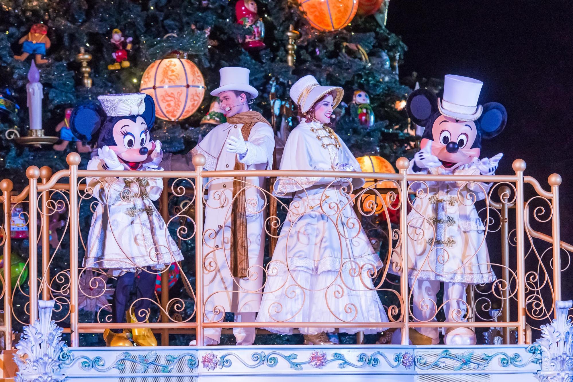 Night Parade at Paris Disneyland