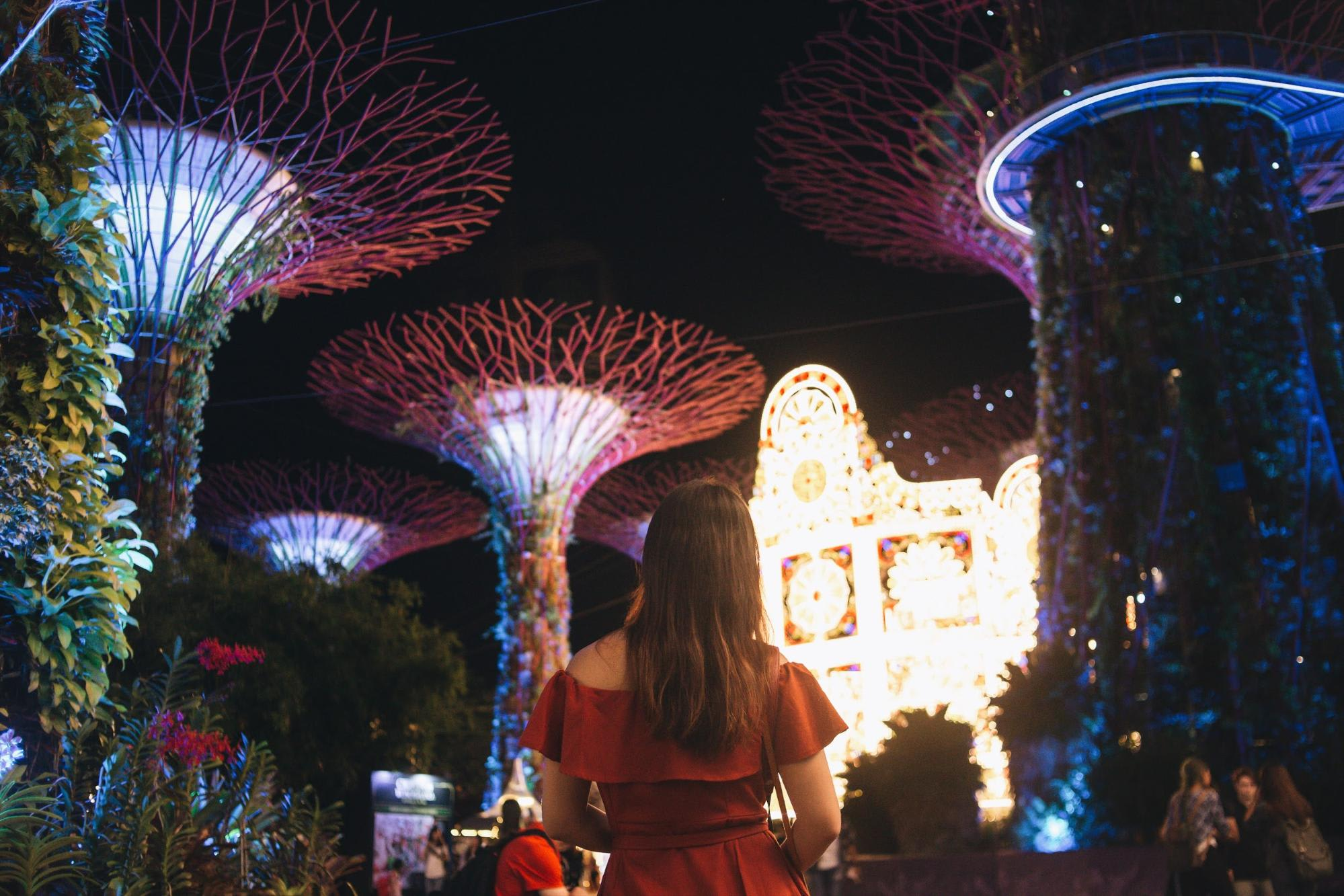 Supertrees at Gardens by the Bay Singapore