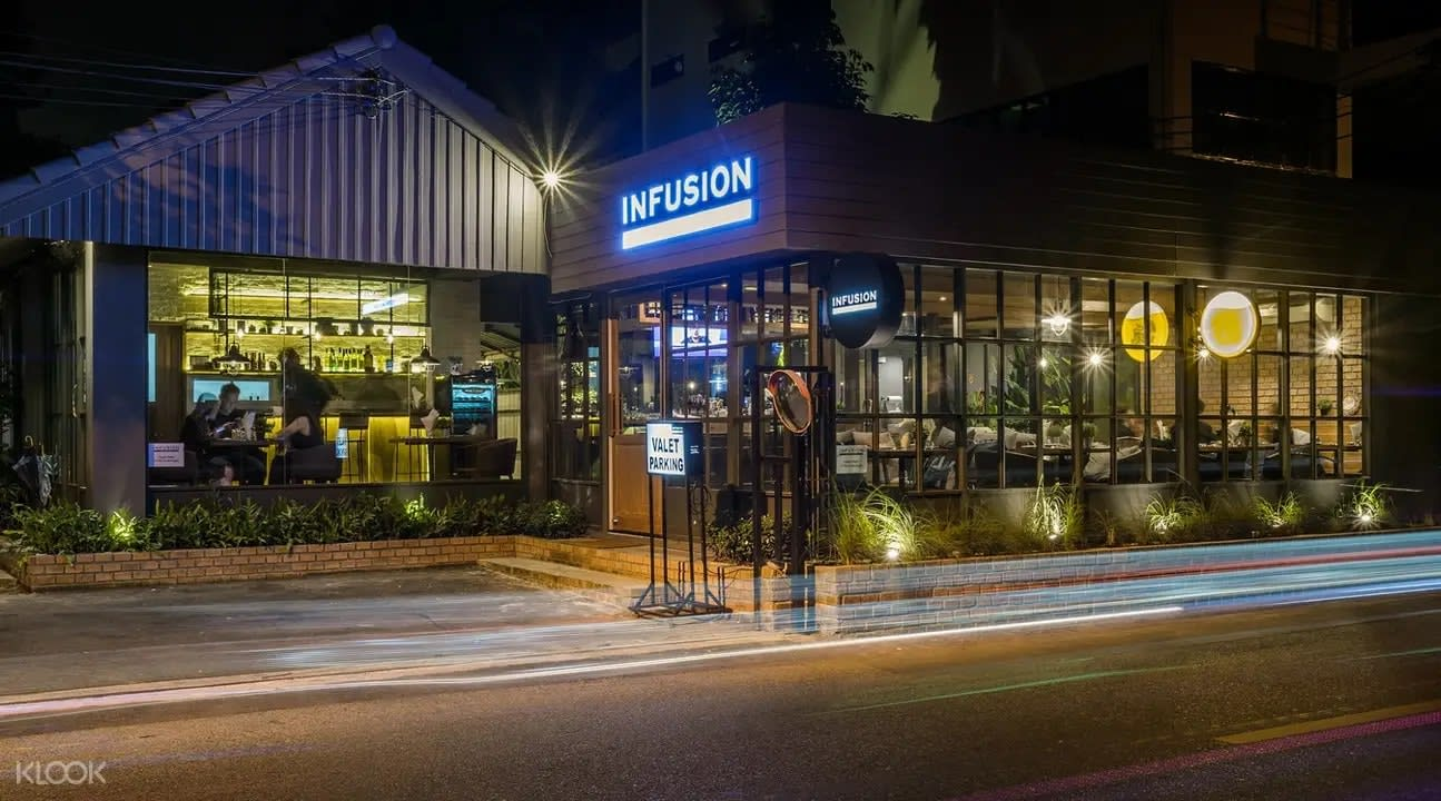Exterior of Infusion Bar and Eatery