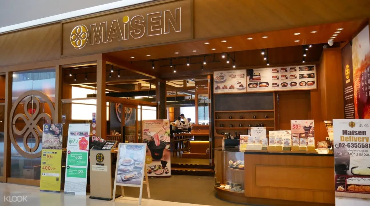 Exterior of Maisen in Bangkok
