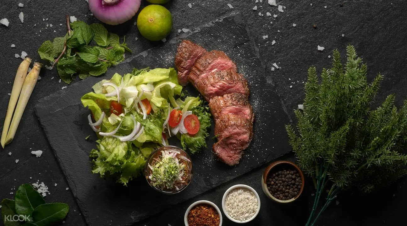 Steak at Infusion Eatery & Bar
