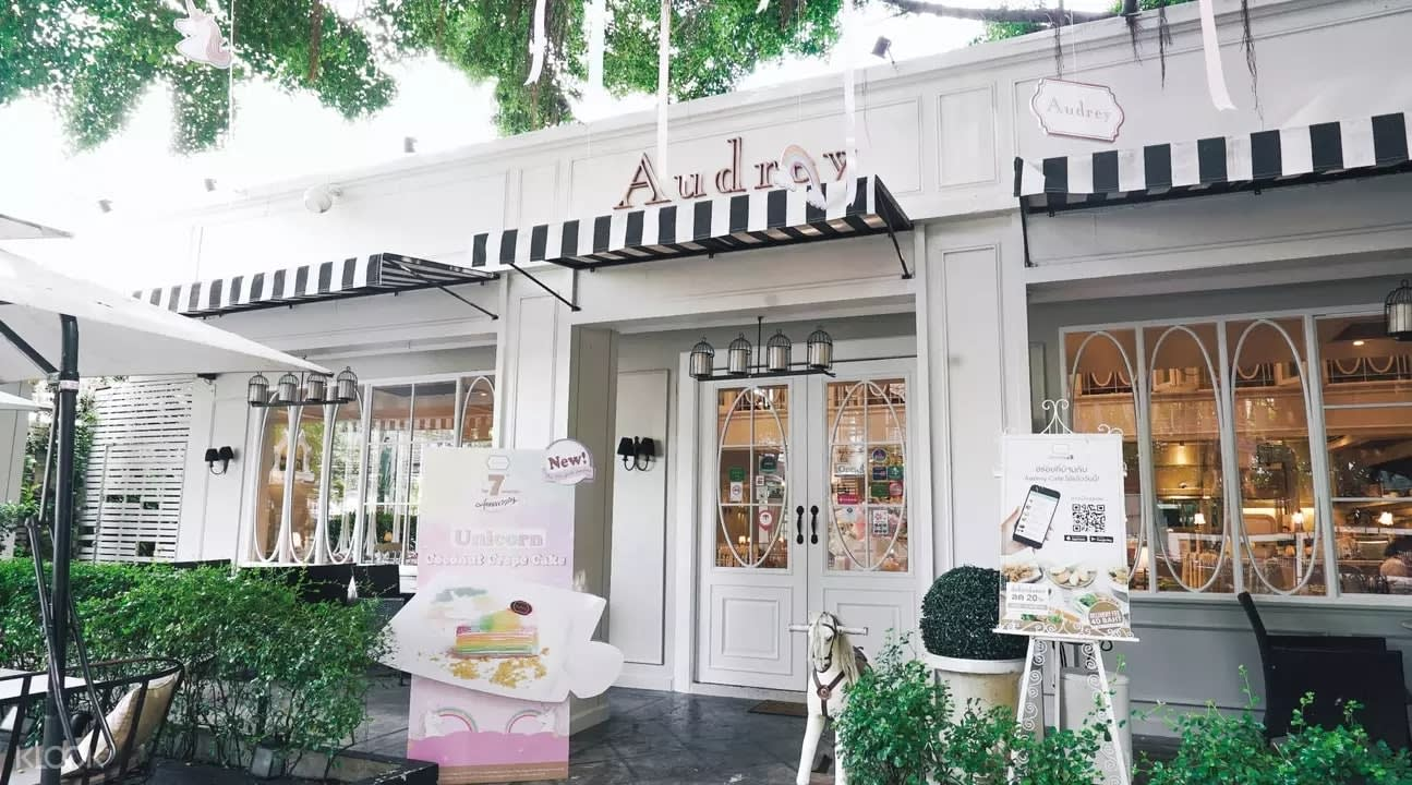 Exterior of Audrey Cafe and Bistro