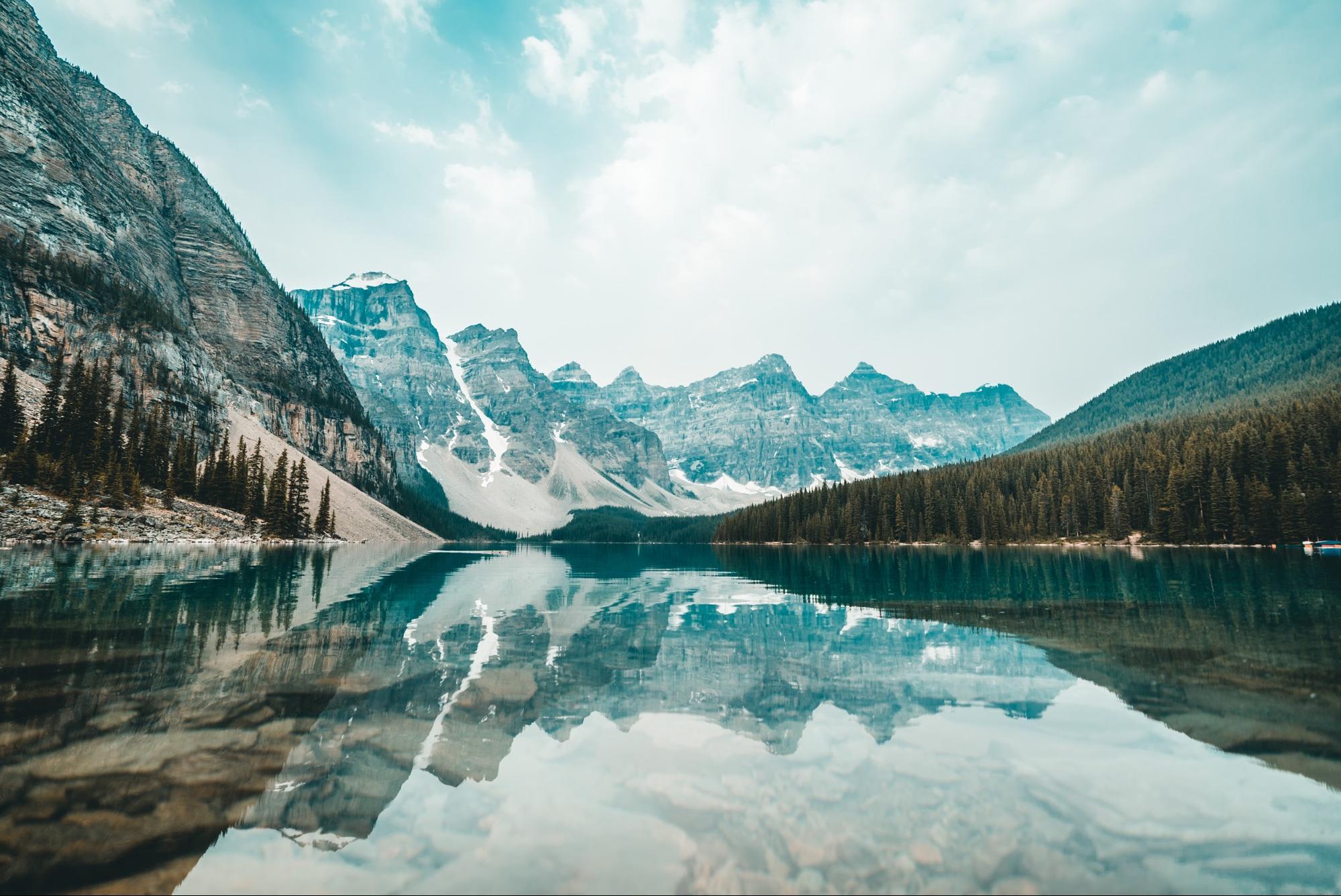 Glacier in Canada