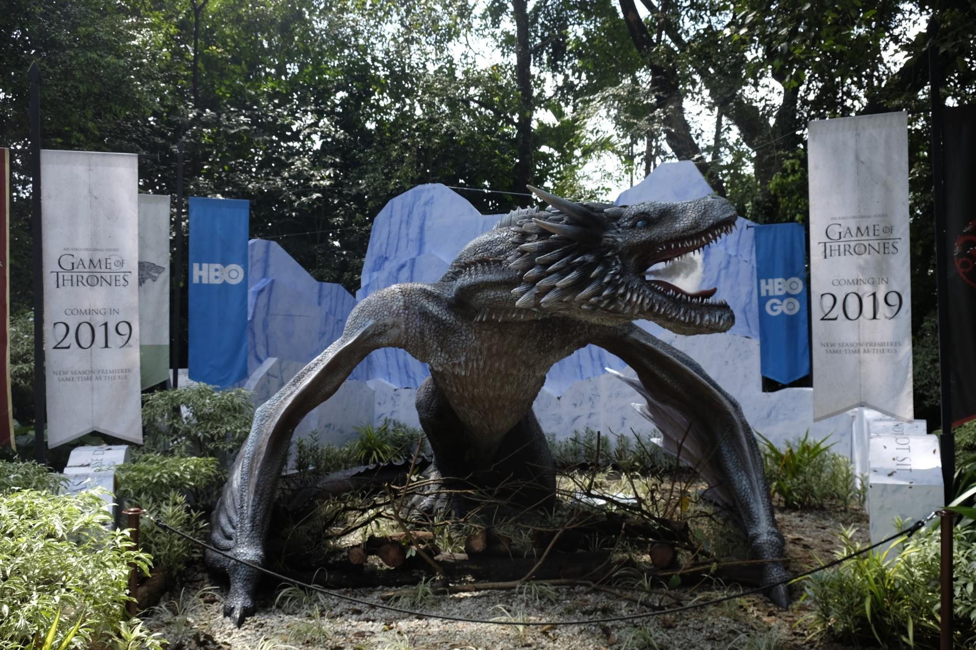 Viserion at WRS Dragons and Beasts