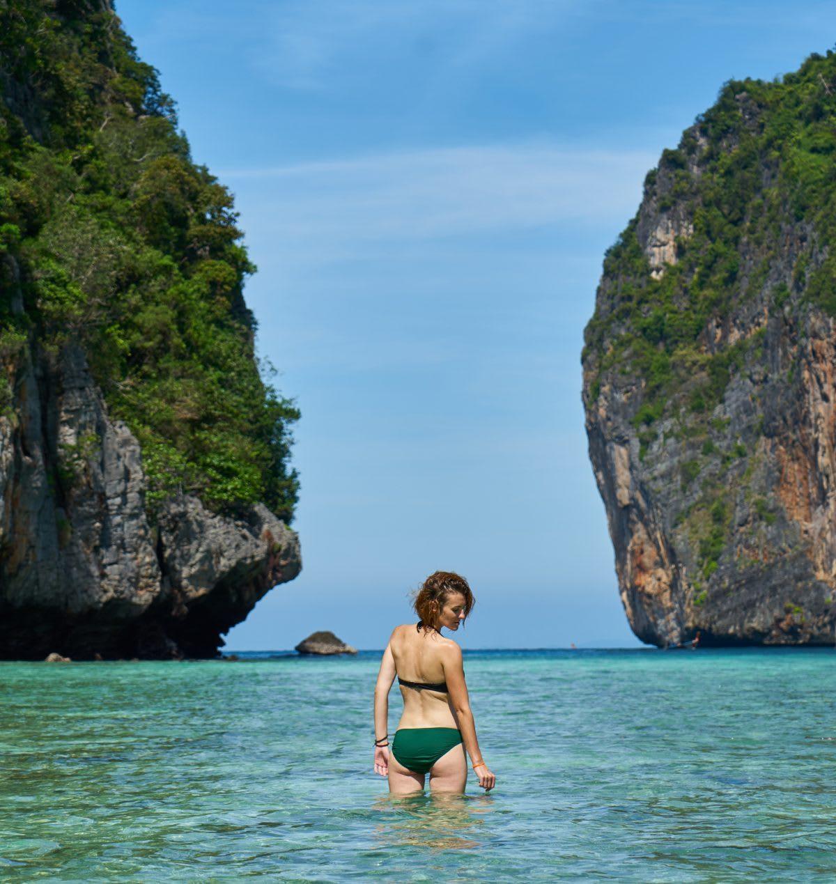 Women near Islands in Thailand