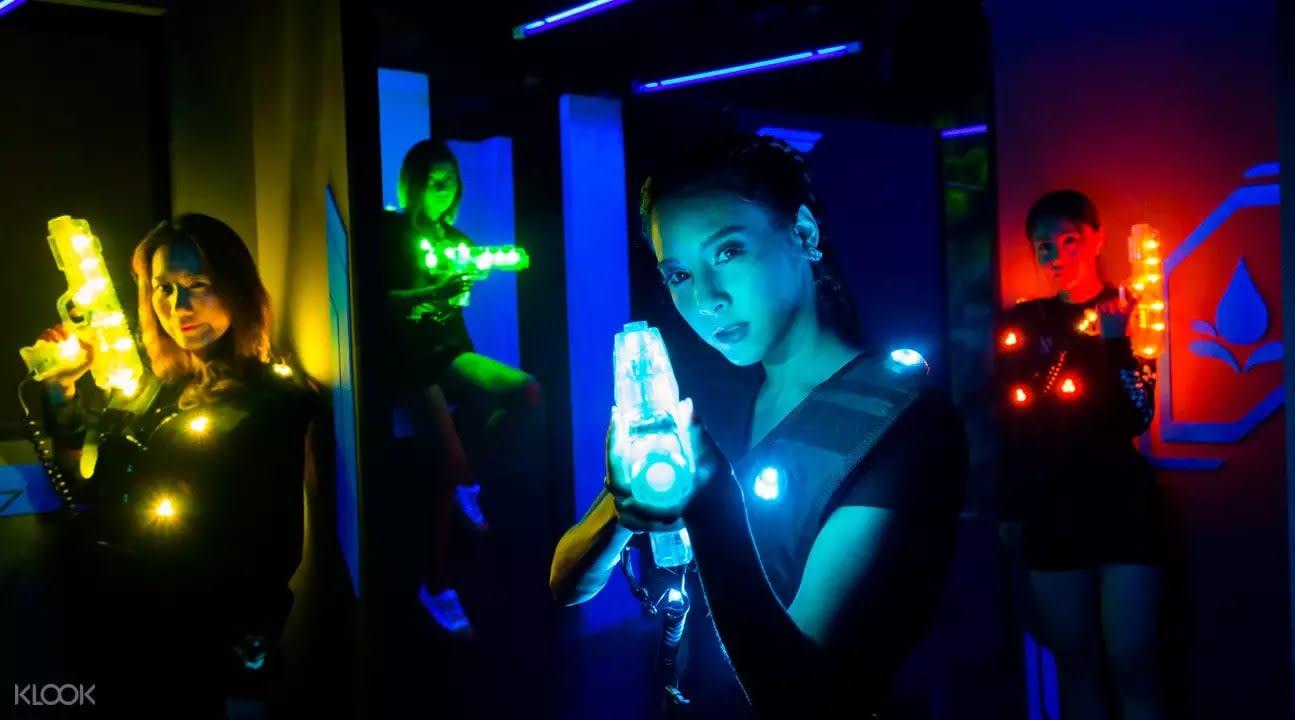 Siam Laser Games Bangkok