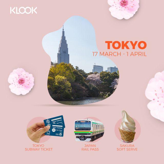 tokyo cherry blossom forecast 2019