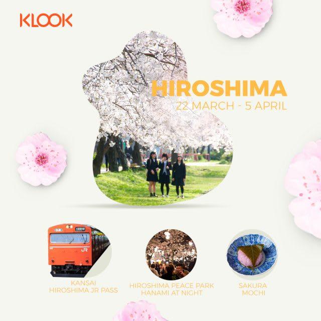 hiroshima cherry blossom forecast 2019