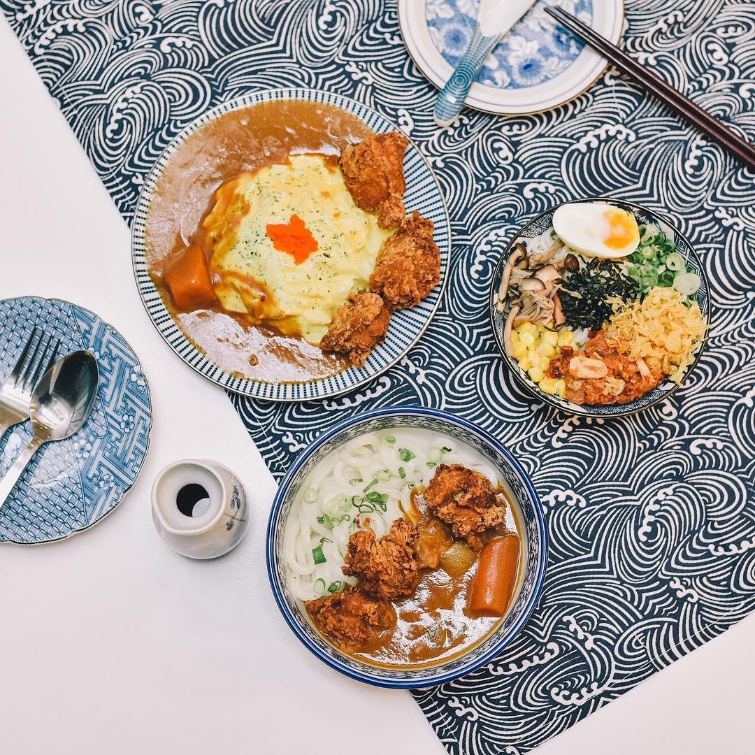 Fuku Eatery Flatlay