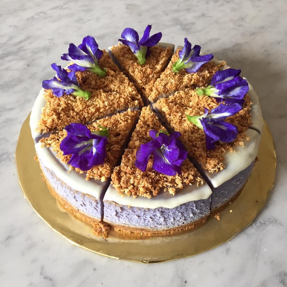 Narrow Marrow Peaflower Cheesecake