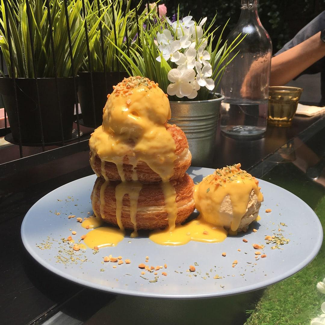 Lavish Fusion Salted Egg Cronut
