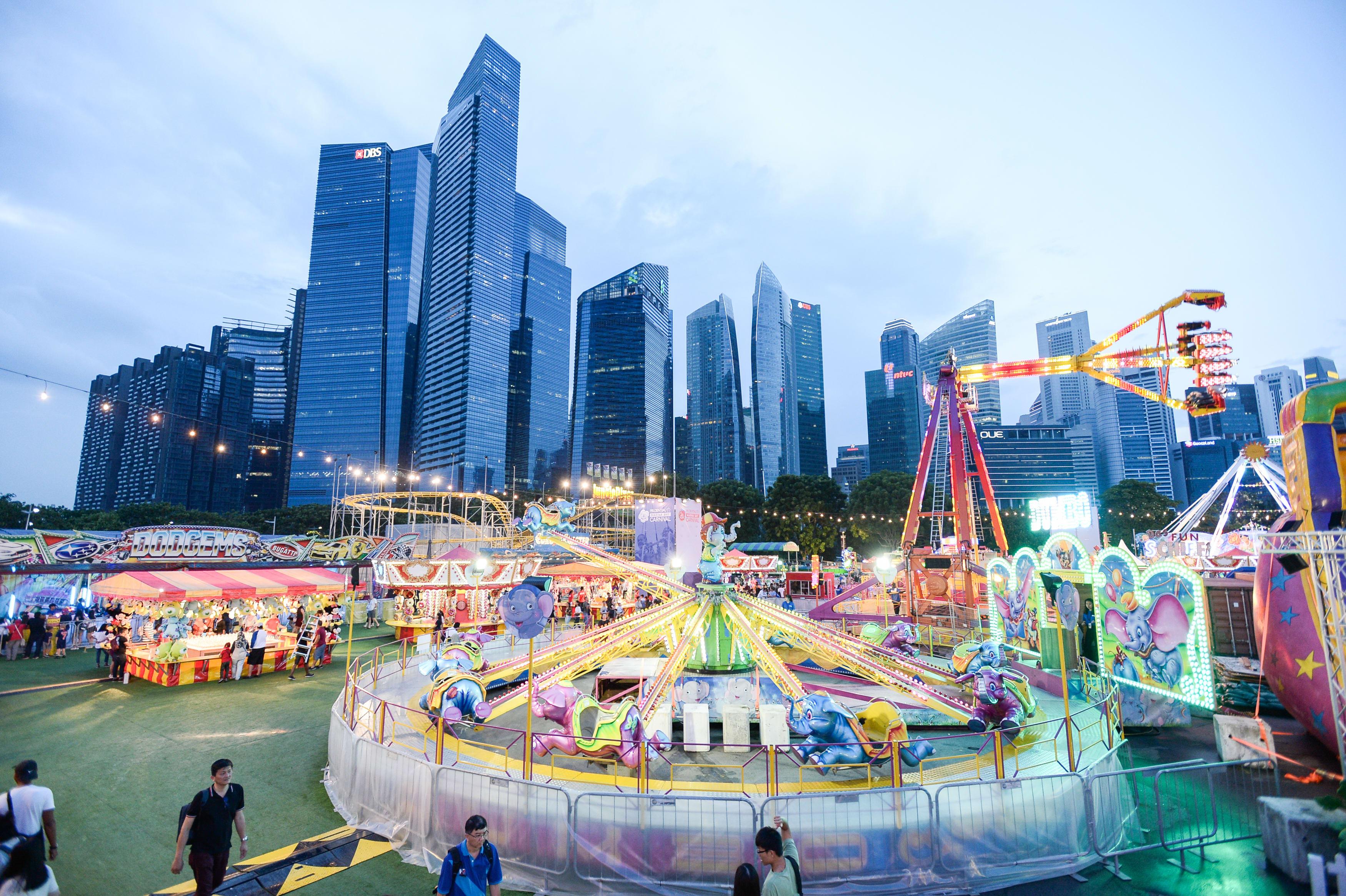 Prudential Marina Bay Carnival @ i Light Singapore (Image courtesy of i Light Singapore)