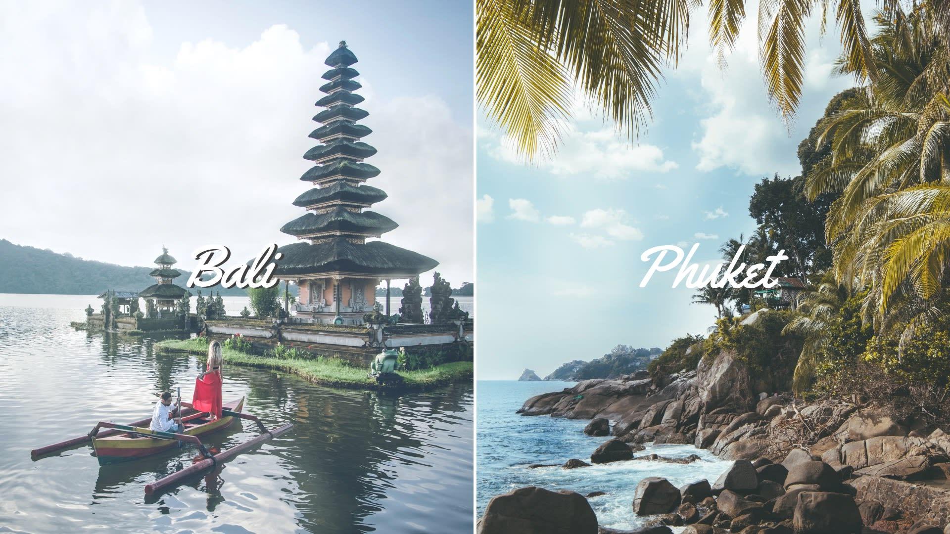 bali and phuket