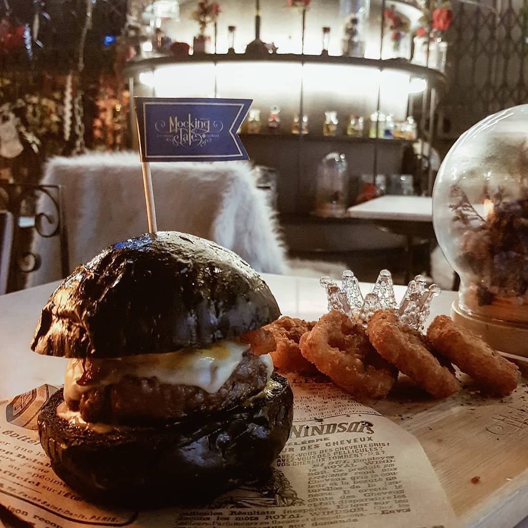 Mocking Tales Cafe Wagyu Burger