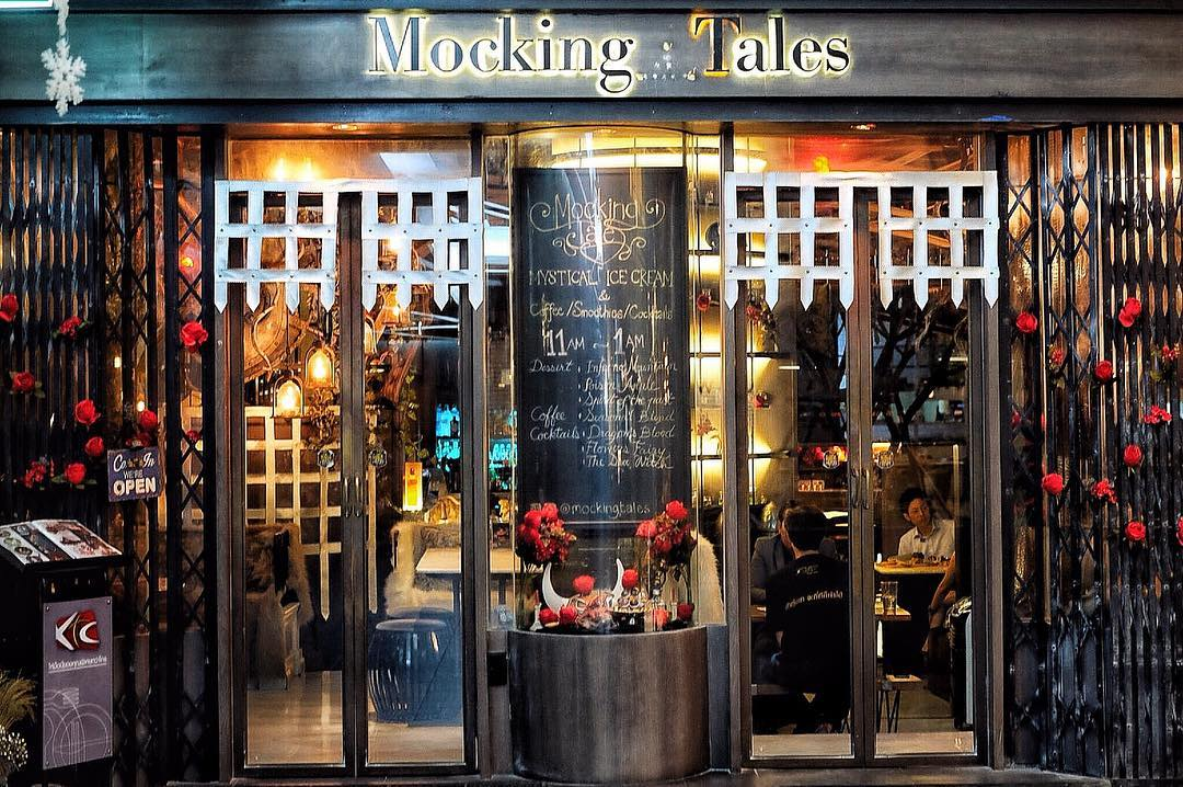 Mocking Tales Cafe Exterior