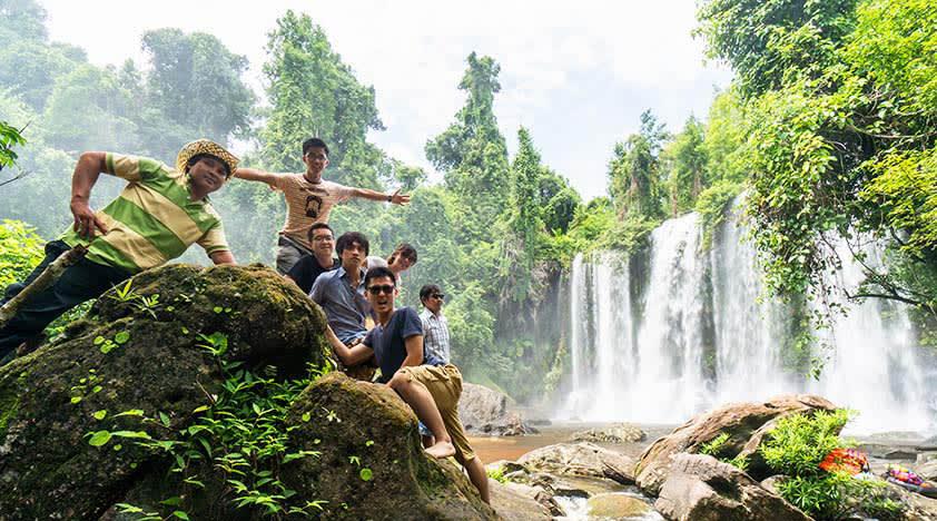 Siem Reap Waterfalls