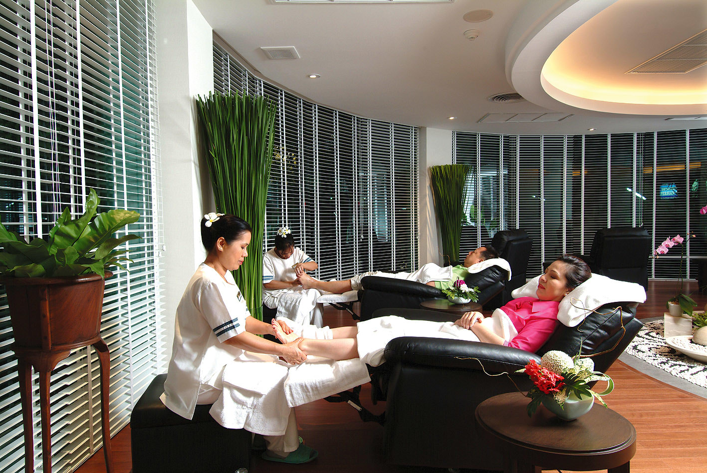Massage at Just Relax Spa BKK