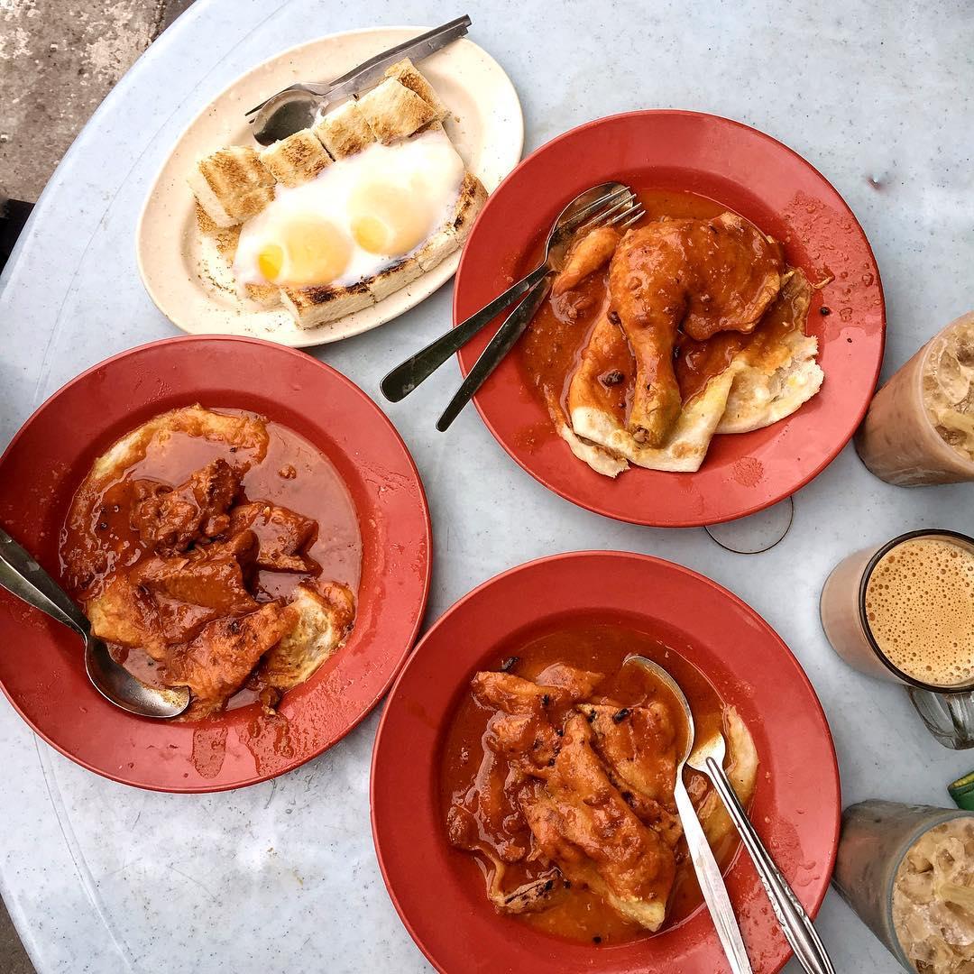 best penang hawker food roti canai