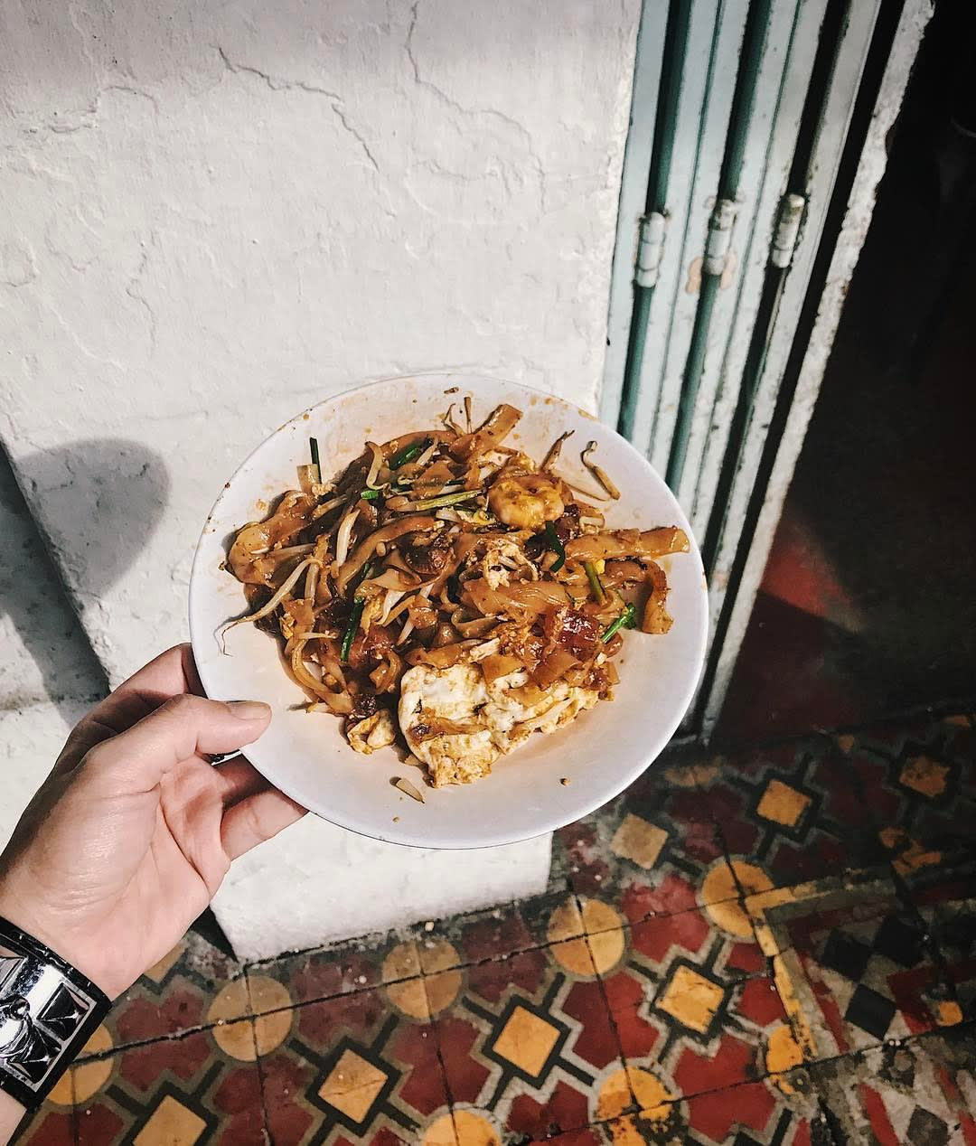 best penang hawker food siam road char kway teow
