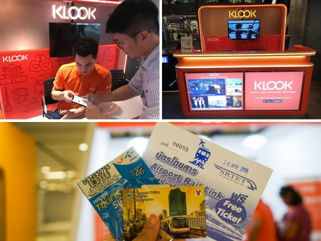 Klook Counter at Siam Center