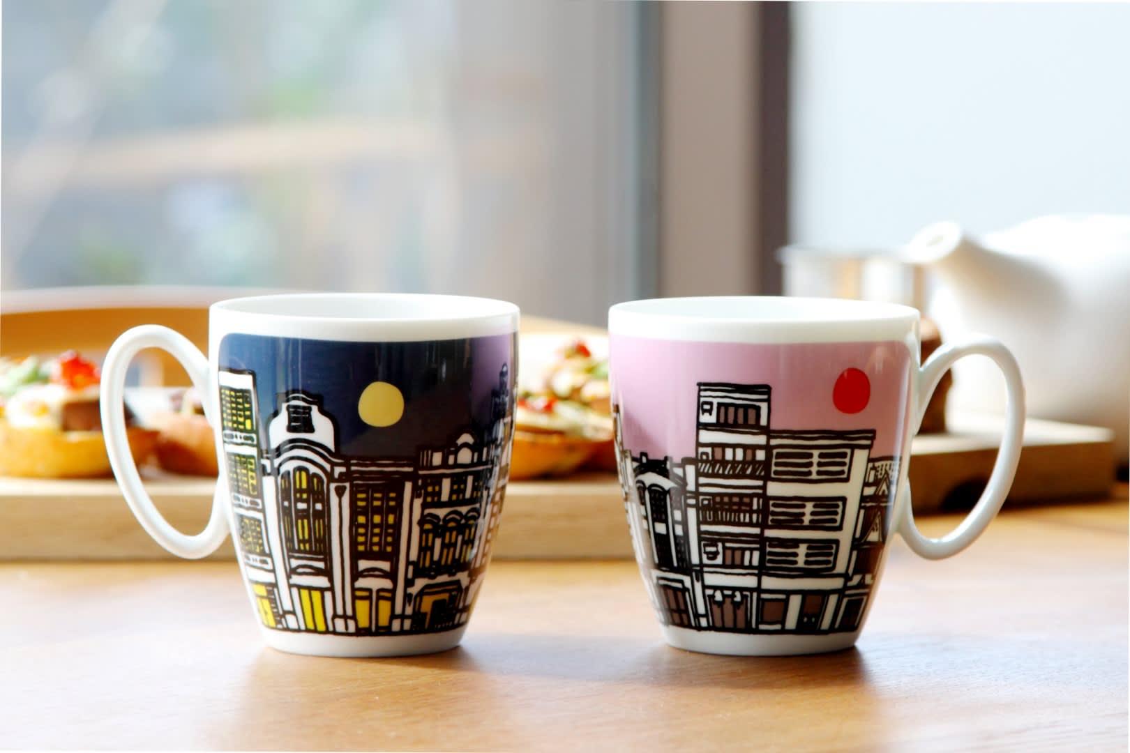 Smith and Hsu Tea Mugs