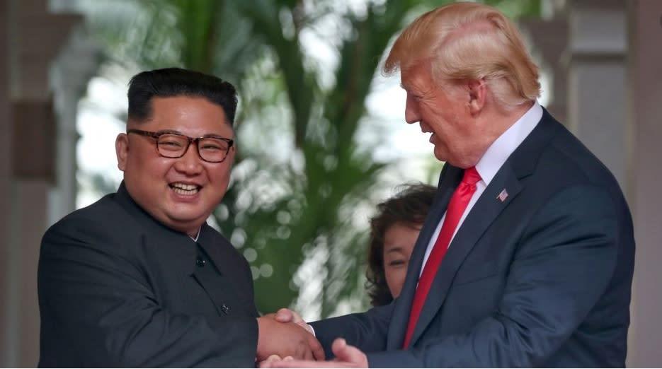 Trump and Kim bromance