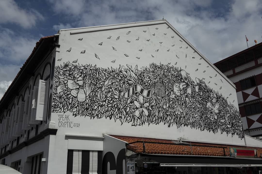 Little India Mural Building