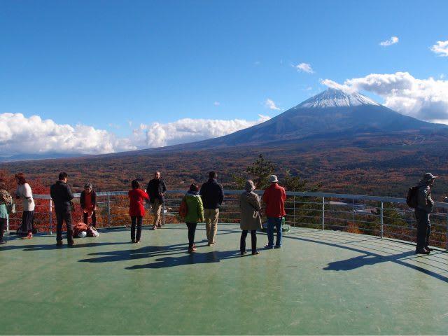 Mount Fuji from Koyo-Dai