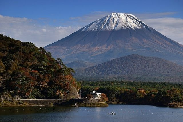Mount Fuji from Lake Shoji