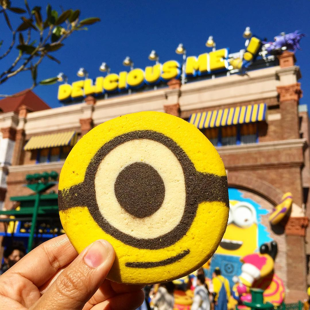 Minion Cookie Ice Cream USJ