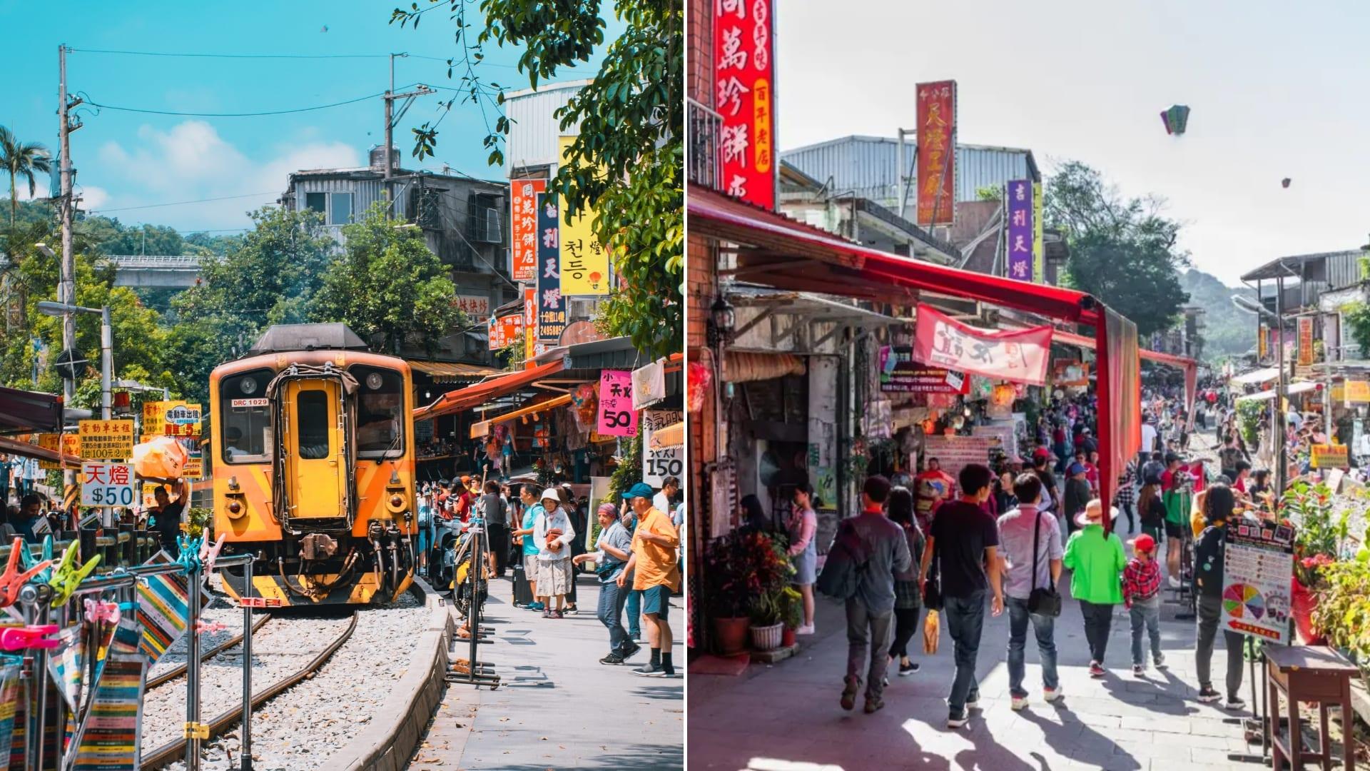 pingxi railway train
