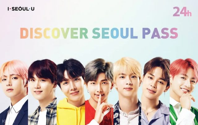 Explore Seoul With This Limited Edition BTS Transport Pass