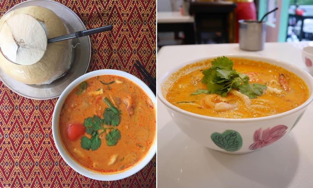 tom yam mooban thai food