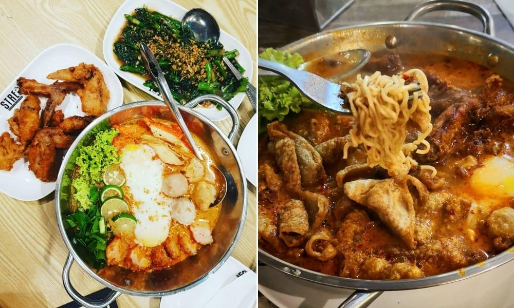 streat thai tom yum wow