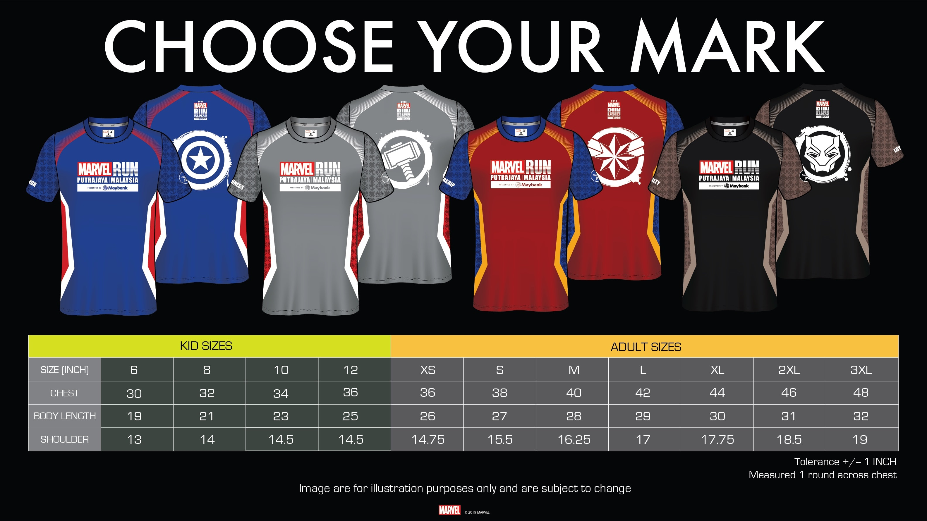 MARVEL RUN Is Coming To Malaysia And Early Bird Tickets Are On Sale