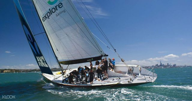 Adventure activities Auckland - yacht sailing