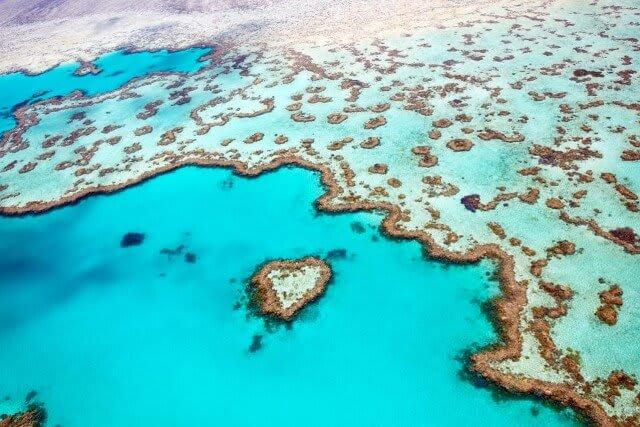 Great Barrier Reef Guide - Heart-shaped reef