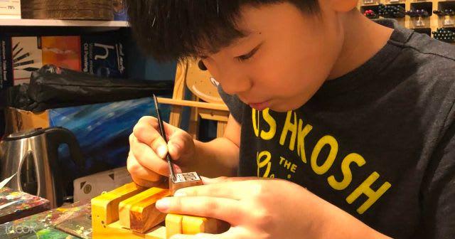 HKTB Hong Kong - Family Friendly - Seal Carving Workshop