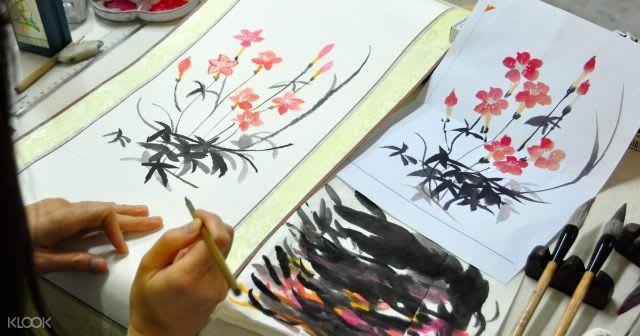HKTB Hong Kong - Family Friendly - Traditional Chinese Painting