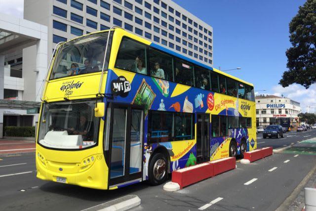 Transport & WiFi Auckland - Auckland explorer bus