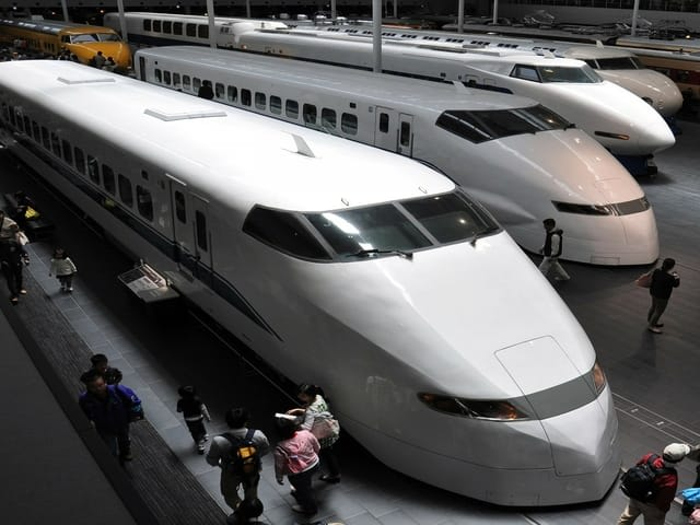 Train Japan Station Tokyo