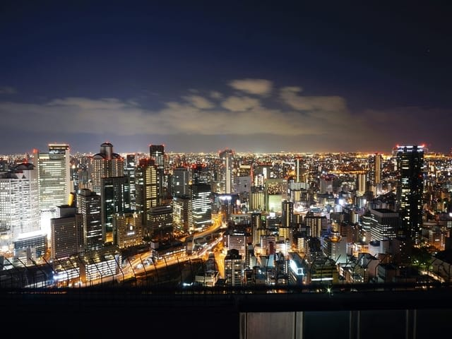 Japan Osaka Night View