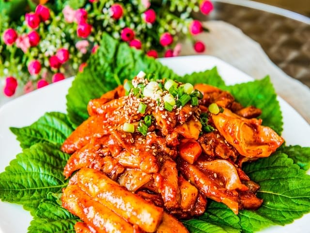 Tteokbokgi Spicy Food